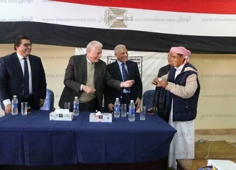 محافظ جنوب سيناء يتفقد معسكر إعداد القادة الموهوبين بطور سيناء