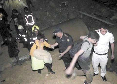 رحلة مدرسية تحولت لمغامرة.. والشرطة أنقذت الطلاب من الموت فى «محمية دجلة»
