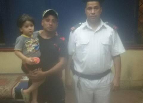 العثور على طفل مفقود برصيف محطة مترو المرج القديمة