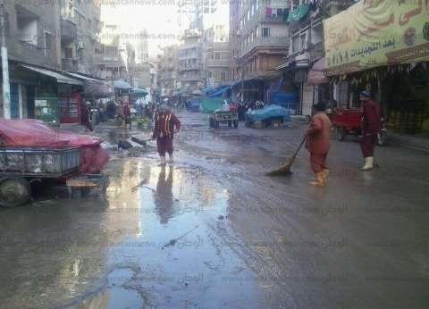 انقطاع التيار الكهربائي في الغربية بسبب الأمطار الغزيرة