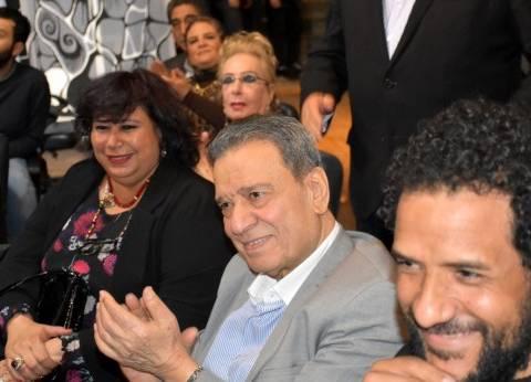 بالصور| وزيرة الثقافة والمسرحيون يحتفون باليوم العالمي للمسرح