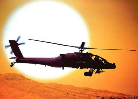 مصادر: قوات الأمن تستعين بطائرات «هليكوبتر» لمحاصرة الإرهابيين بالواحات