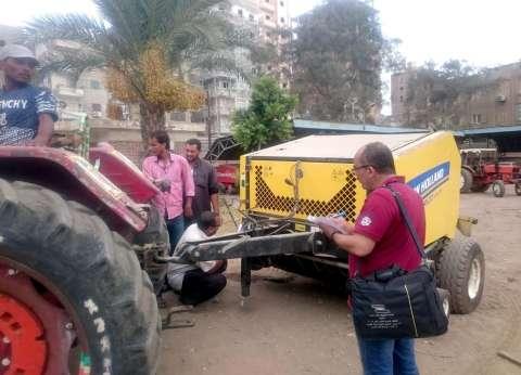"""""""البيئة"""" تكثف جهودها لمواجهة حرق قش الأرز في كفر الشيخ"""