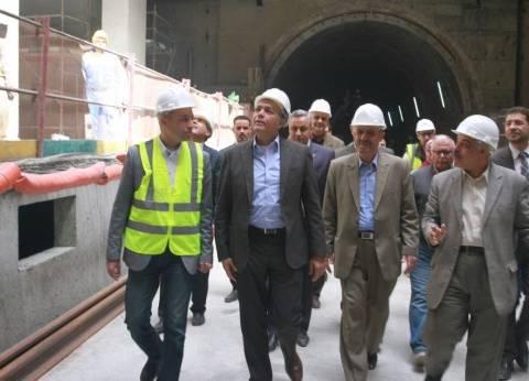عرفات: البدء في تنفيذ أعمال المرحلة الثالثة من الخط الثالث للمترو