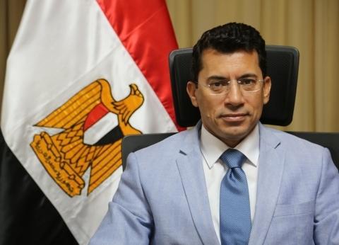 وزير الشباب يبحث التعاون الثنائي مع نظيره البحريني في شرم الشيخ