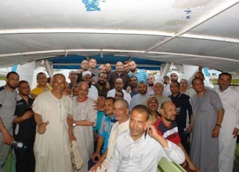 محافظ دمياط يستضيف الأئمة المشاركين بمعسكر رأس البر في رحلة نيلية