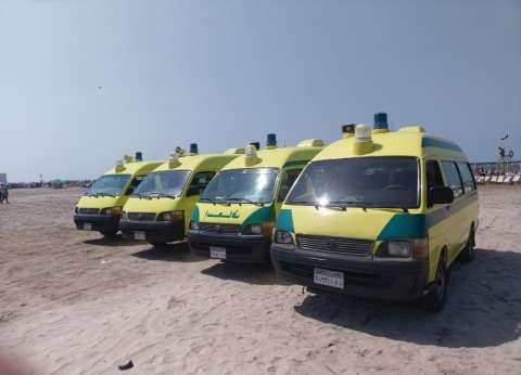 """""""الصحة"""": وفاة مواطنين وإصابة 13 آخرين إثر انقلاب سيارة في أسيوط"""