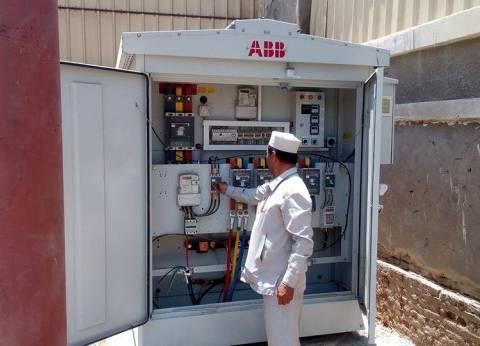تركيب محول قوة 500 وات بمنطقة الإذاعة في حي شرق سوهاج