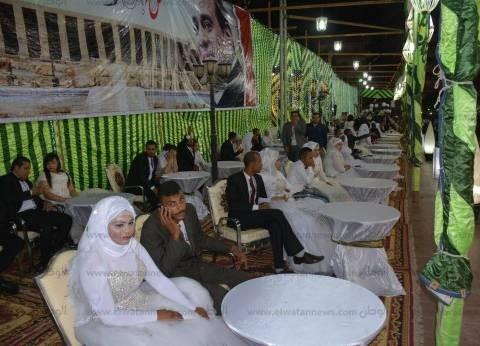 "بالصور| ""من أجل مصر"" تنظم حفل زفاف جماعي لـ200 عروس بسوهاج"