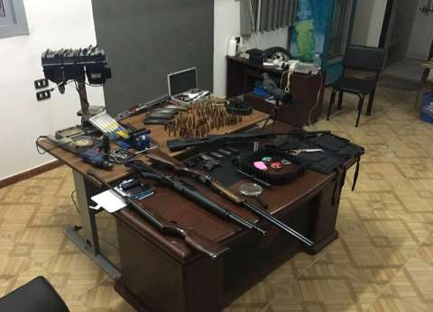 ضبط ورشة لتصنيع السلاح داخل منزل بمركز أبوقرقاص في المنيا