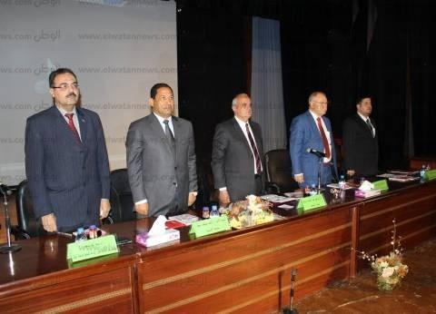 بالصور  رئيس جامعة طنطا يفتتح المؤتمر الدولي الخامس لكلية التمريض