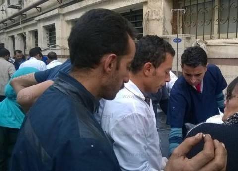 """مستشفيات """"عين شمس"""" ترفع حالة الطوارئ لاستقبال ضحايا تفجير الكاتدرائية"""