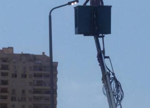 رفع كفاءة الكهرباء بحي منتزه ثان بالإسكندرية
