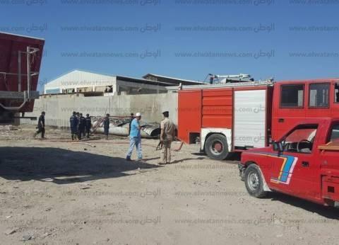 """""""الحماية المدنية"""": السيطرة على حريق التهم شقة في 6 أكتوبر"""