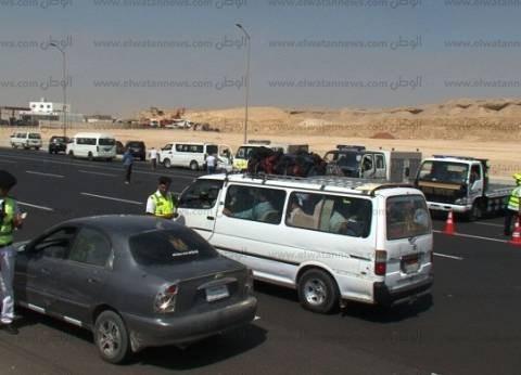"""""""مرور كفر الشيخ"""" تضبط 5 سائقين لتعاطيهم المخدرات أثناء القيادة"""