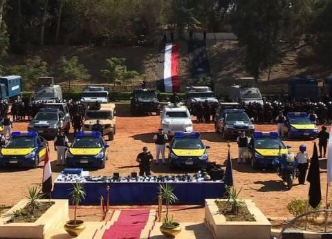مدير أمن القاهرة يشهد خطة التدريب السنوي للقوات