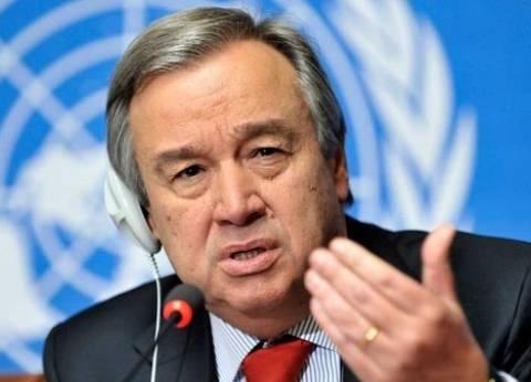 """الأمين العام للأمم المتحدة ينتقد قرار """"ترامب"""" ويصفه بـ""""إجراء أعمى"""""""