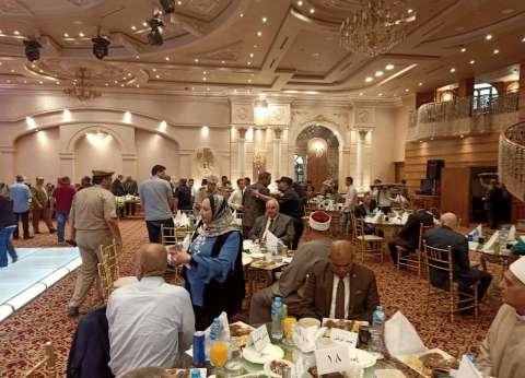 """""""السعيد"""" ينظم حفل إفطار للقيادات التنفيذية والأمنية في الغربية"""