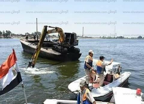 محافظ البحيرة: إزالة 42 قفصا سمكيا في حملة مكبرة بنهر النيل