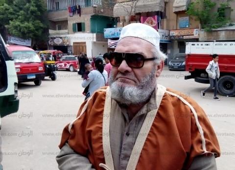 """""""عصام"""" فقد بصره منذ 14 عاما ونزل يشارك في الاستفتاء: """"ده مستقبل وطن"""""""