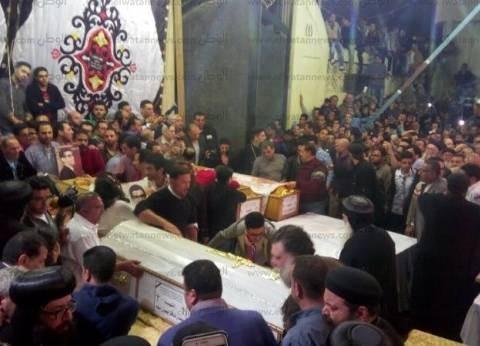 16 مطرانا وأسقفا يشاركون في جنازة شهداء طنطا