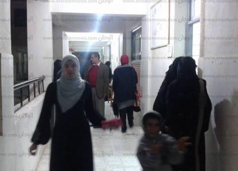 قبل نصف ساعة على انتهاء التصويت.. تزايد الإقبال على لجان المعادي