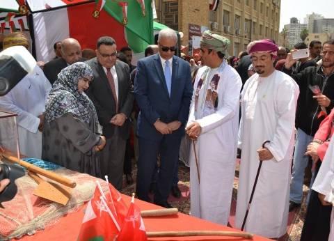 رئيس جامعة الإسكندرية يستقبل الملحق الثقافي لسفارة سلطنة عمان بالقاهرة