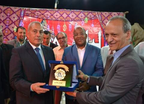محافظ السويس يشهد ختام فعاليات ليالي رمضان بمركز شباب فيصل