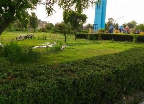 محافظ الوادي الجديد يأمر بحصر الحدائق العامة المؤجرة