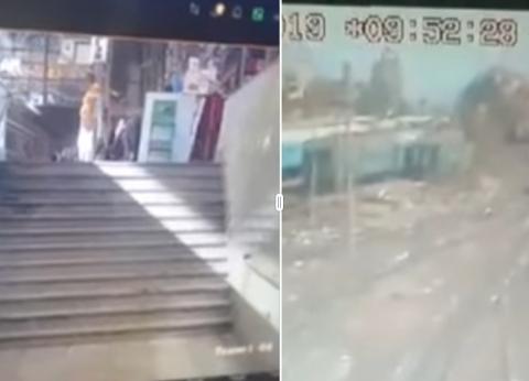 """مصدر بـ""""السكة الحديد"""" يكشف سبب اختلاف توقيت كاميرات المراقبة في حادث محطة مصر"""