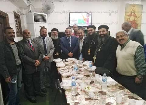 """""""إفطار أمام صورة المسيح"""".. كنيسة بالإسكندرية تنظم إفطار الوحدة الوطنية"""