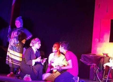 """فريق مسرح """"ثقافة برج العرب"""" يعرض """"الكابوس"""" بالمهرجان الإقليمي للنوادي"""