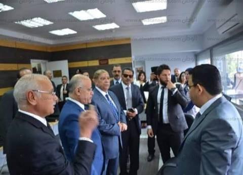 افتتاح المكاتب الإدارية بعد ميكنتها بمحكمة الابتدائية في الإسماعيلية