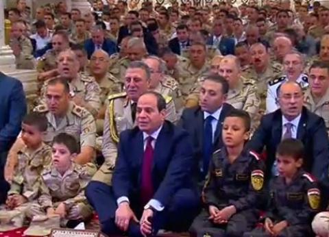 أخبار ماتفوتكش  السيسي يهنئ الشعب المصري بمناسبة عيد الفطر