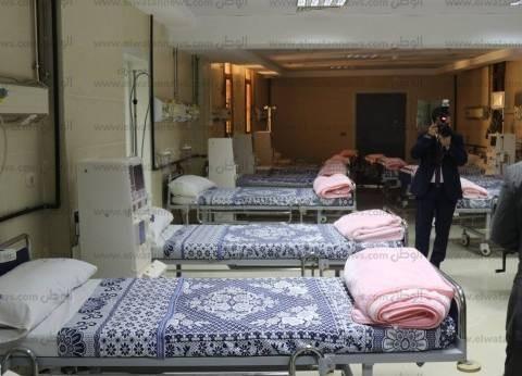 بالصور| تعرف على مستشفى جامعة كفر الشيخ التي افتتحها السيسي