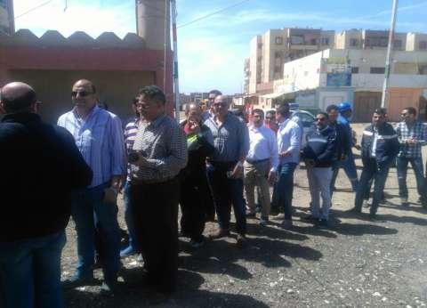 إقبال كثيف من عمال حقل ظهر وشركات البترول على لجان غرب بورسعيد للتصويت