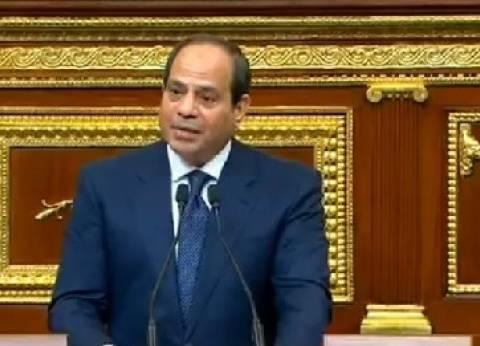 """وزير الزراعة يهنئ السيسي بآداء """"اليمين"""": نأمل في استمرار التنمية"""