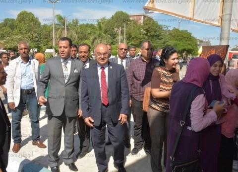 """جامعة أسيوط تحتفل بانتصارات أكتوبر تحت عنوان """"حكاية نصر"""""""