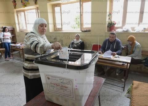 إقبال كثيف على التصويت بلجان الجيزة في اليوم الأخير
