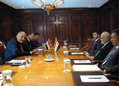 اتفاق مصري عراقي على الإعداد الفوري لعقد اجتماعات اللجنة المشتركة