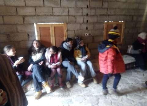 """172 سائحا أجنبيا يزورون """"سانت كاترين"""" في جنوب سيناء"""