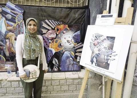 قصة سيدنا يوسف.. مشروع تخرج «ندى» فى «فنون جميلة»
