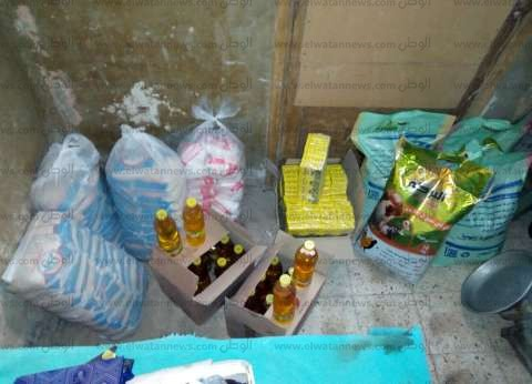 ضبط 1.5 سلع تموينية داخل محل قبل بيعها في السوق السوداء بالغربية