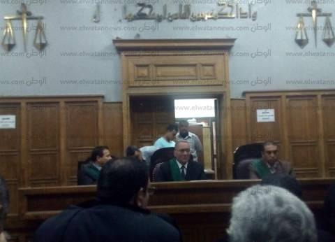 """رفع جلسة محاكمة متهمي """"الأعضاء البشرية"""" بسبب مشاجرة بالقفص"""