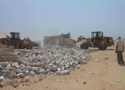 وكيل وزارة الزراعة: حملات لإزالة المباني المخالفة والتعديات على الأراضي