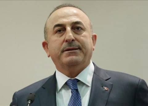 العاهل السعودي يبحث مع وزير الخارجية التركي الأزمة الخليجية
