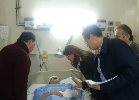 رئيس الرعاية الحرجة بالصحة: 28 حالة من مصابي انفجار الكنيسة غادروا المستشفيات
