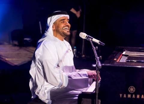 حسين الجسمي يختتم حفلات مهرجان موازين بالمغرب: بالفن اتجمعنا