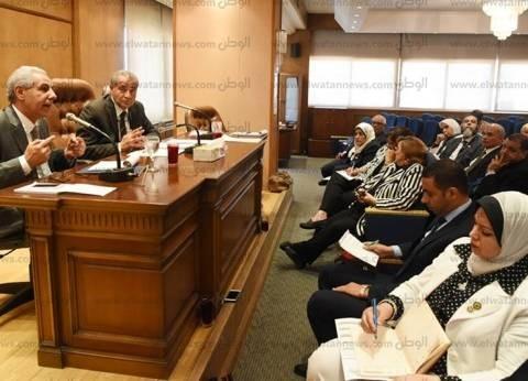 """""""عبد العال"""": يستقبل رئيس البرلمان الأفريقى بمكتبه"""
