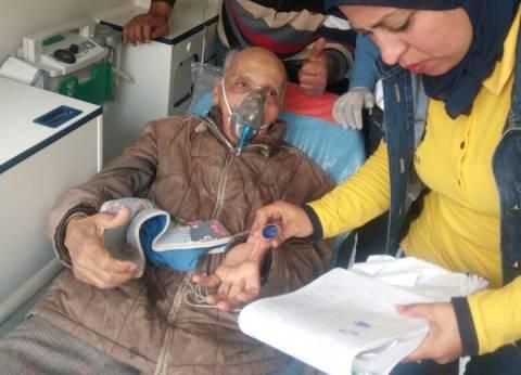 الإسعاف: نقلنا 10 حالات أثناء التصويت بلجان بورسعيد